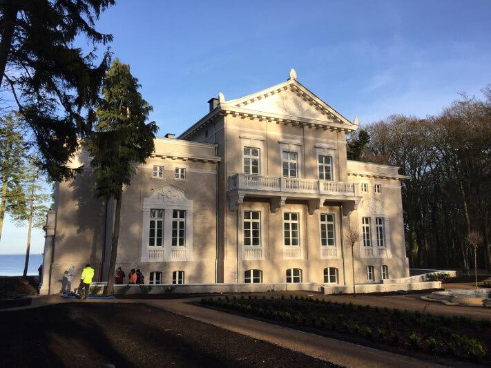 renowacja zabytkowego pałacu